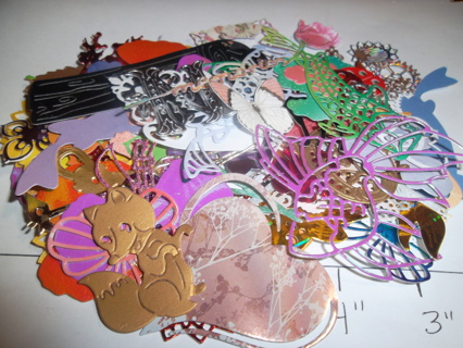 Small Misc. Die Cuts (over 125 pieces)