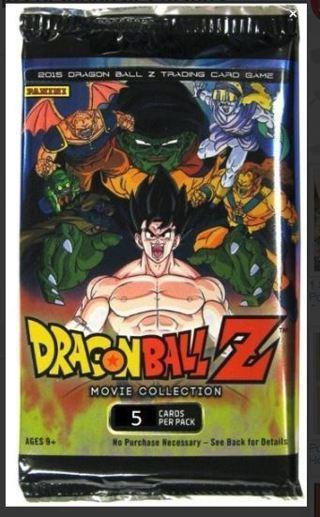 1 DRAGON BALL Z CARDS BOOSTER PACK anime DBZ cards Goku dbz manga dragonball z manga EVOLUTION pack