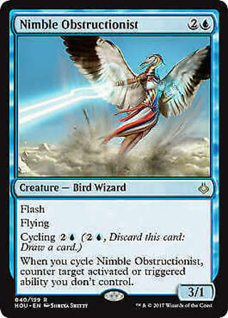 MTG Magic - Nimble Obstructionist - Hour of Devastation - Rare