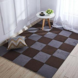 New Baby Crawling Mat Child Activity Gym Rug Plush Foam Pad Kids Playmat Carpet
