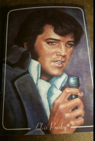 Elvis post card