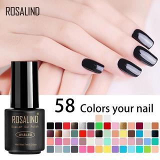 ROSALIND 7ML UV Gel Nail Polish Primer For Nails Art Design Soak Off Hybrid White Gel For Nail Ext