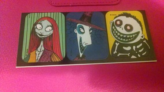 The Nightmare before Christmas stickers 2