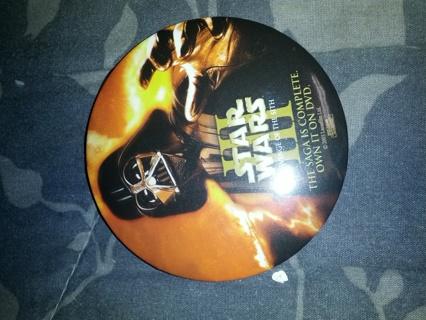 Star wars 3 Button
