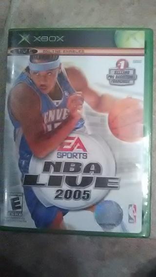 X box NBA live 2005