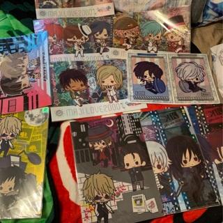 Anime Japan Clearfile Folder Lot
