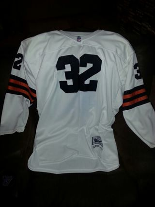 finest selection 62af5 93ee6 Free: Mitchell & Ness Jim Brown 1964 Cleveland Browns ...