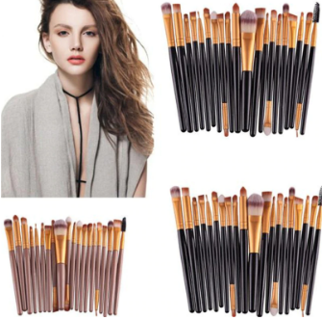 15pcs Eye Shadow Foundation Lip Brush Makeup Brushes Tool brochas maquillaje brush set new