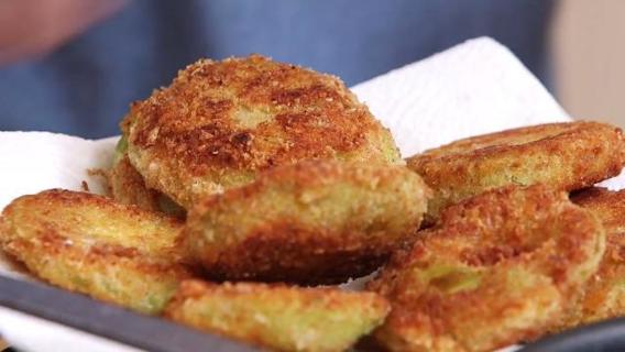 DELUXE Fried Green Tomato Recipe