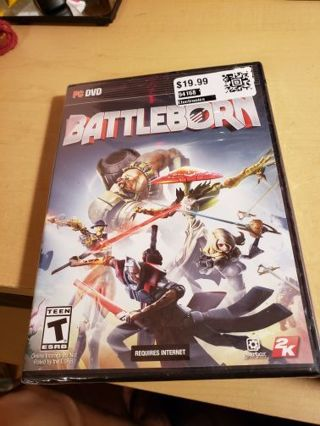 Sealed pc battleborn game