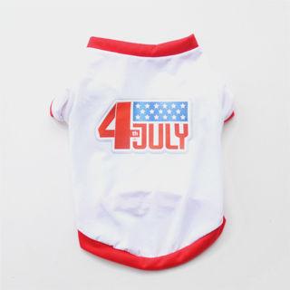 USA Independence Day Pet Dog T-shirt