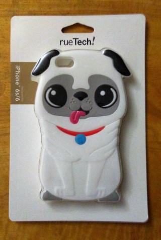 New Rue 21 iPhone 6s/6 Pug/Dog Case