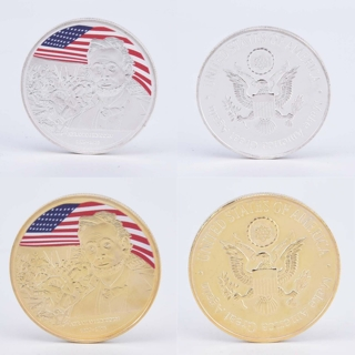 Abraham Lincoln Plated Coin US Presidential Souvenir Art Craft Gifts