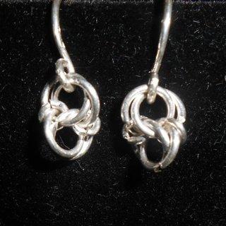 925 sterling silver celtic love knot earrings