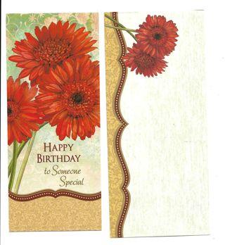 Birthday Card Unused With Envelope Nice