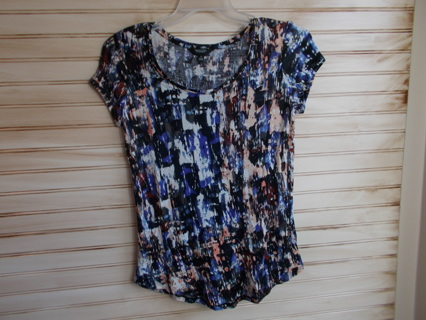 Simply Vera by Vera Wang Abstract Tee Size Small