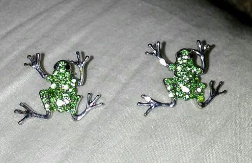 ❤FROG EARRINGS❤