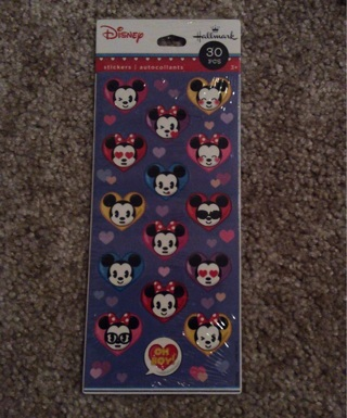 Minnie And Mickey Mouse stickers