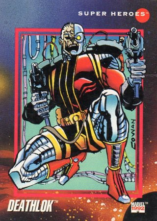 1992 Marvel Comic Trade Card: Deathlok