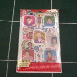 1Direction collectible Sticker Pack