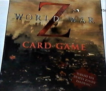 WORLD -Z-WAR CARD GAME  ZOMBIES