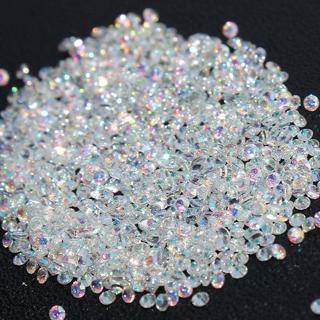 1440pcs Crystal Pixie 3D Nail art Micro Zircon 1.2mm Mini Rhinestones Solid
