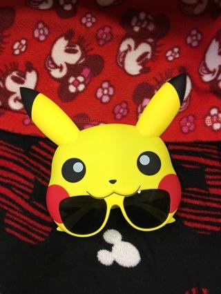 Pokemon pikachu sunglasses uv 400 protection face Nintendo