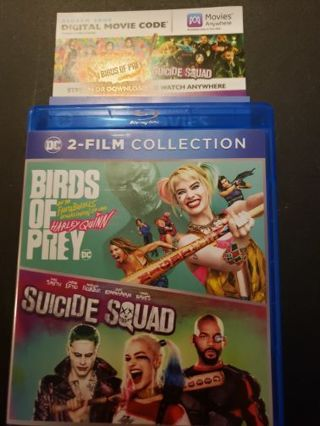 Birds of prey and Suicide squad digital copy