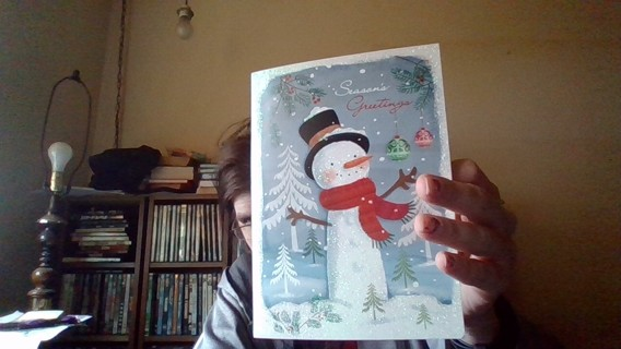 *Relist* Christmas Card Without Envelope