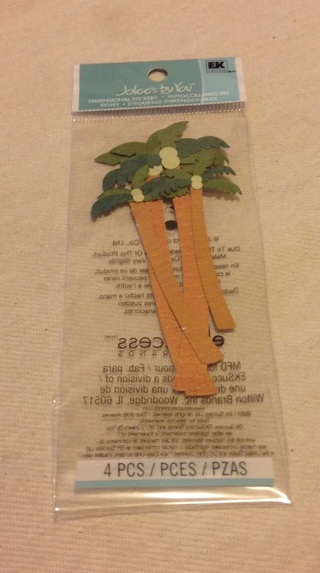 """Jolee's by You Palm Tree Dimensional Stickers 3"""""""