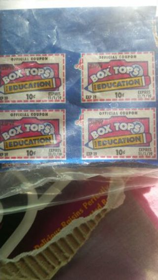 23. BOX TOPS For EDUCATION **Free Shipping**