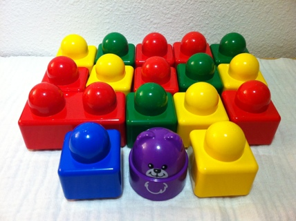 Authentic Lego Duplo Primo Building Stacking Blocks for Baby or Toddler