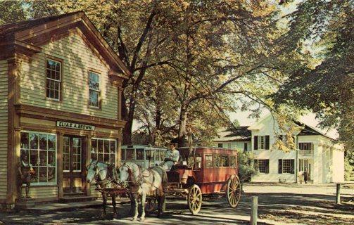Vintage Used Postcard: General Store, Greenfield Village, Dearborn, MI