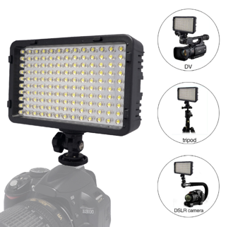 130 LED Video Photography Light Lighting for Canon Nikon Sony Panasonic Olympus Pentax & DV Camera