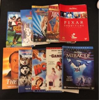 Disney Artwork for DVDs #2