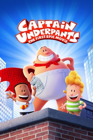 Captain Underpants The First Epic Movie (HDX) (Movies Anywhere) iTunes, Vudu, Digital copy