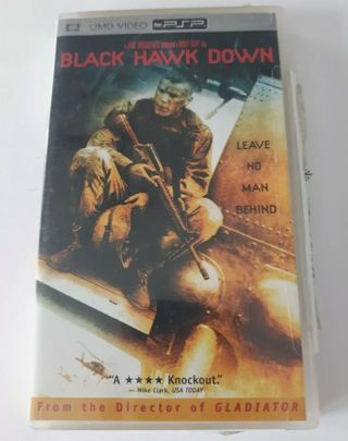Black Hawk Down UMD Video For Sony PlayStation PSP Good Condition