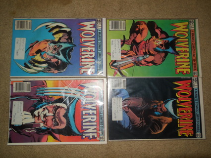 Wolverine 1982 Limited Series 1-4 VF