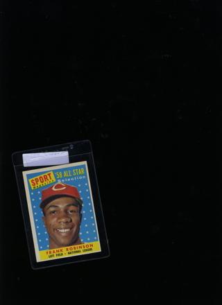 1958 Frank Robinson  baseball card