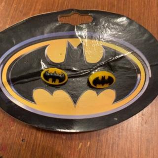 Batman earrings! NIP!