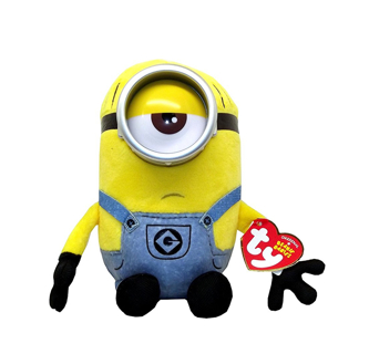 NEW The Minions Ty Beanie Baby Babies MEL Despicable Me 3 Movie Toy Plush Doll FREE SHIPPING