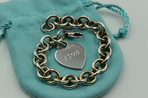 Tiffany & Co. Heart ID Tag Bracelet