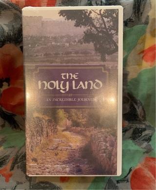 SEALED! The Holy Land! VHS