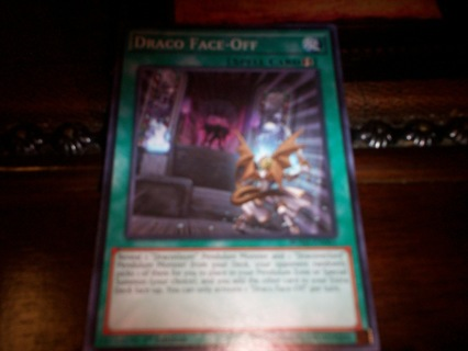 new yu-gi-oh draco face-off spell card