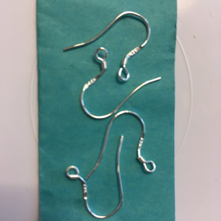 2 SETS OF 925 MARKED STERLING SILVER EAR WIRES