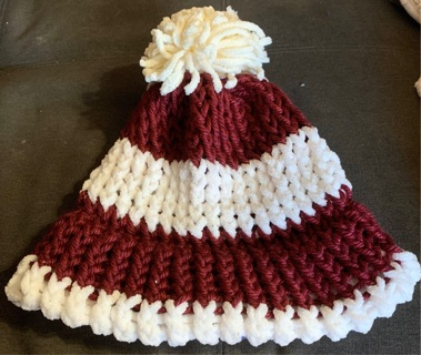 Handmade Knitted Beanie Adult Hat