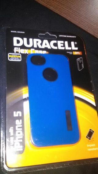 the latest 14b0f e302e Free: iphone 5 Duracell Flex Case Protection LVL 99%. Brand New and ...