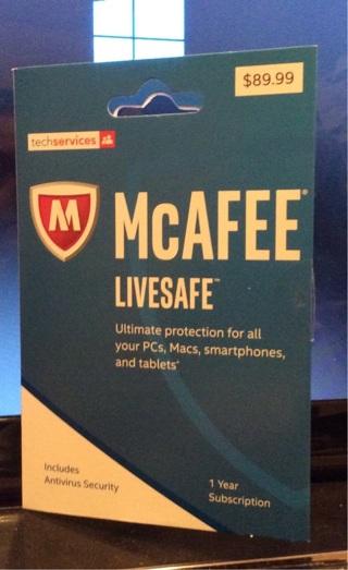 Brand New McAfee Livesafe Antivirus