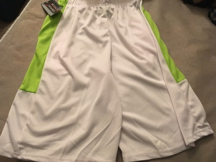 NEW Elastic Waist Shorts XL Stretchy Pull String Pockets FREE SHIPPING