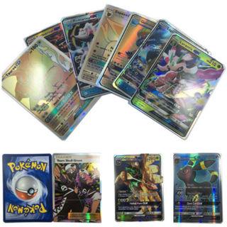 20 Pcs/Lot Pokemon GX Card MEGA Holo Flash GX Trading Cards Charizard Kids Gift